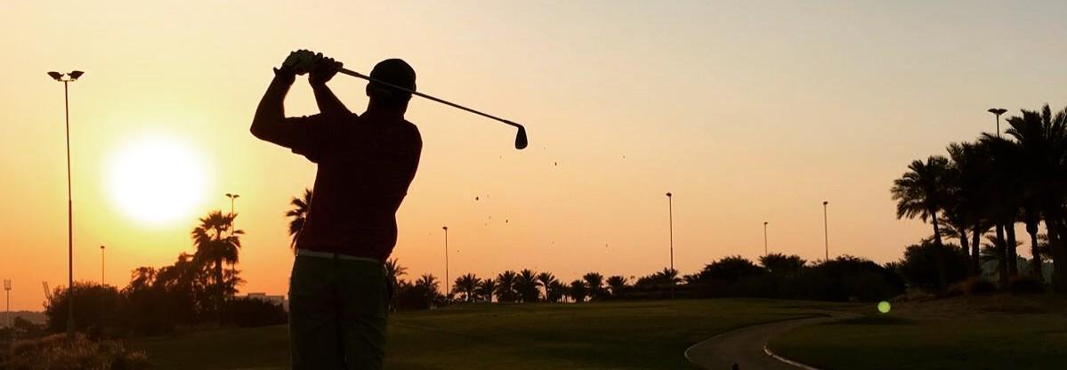 Golfvalmentaja Petri Parviainen